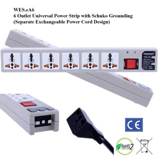 220v Power Strip Plug Adapter Shop 220 Volt European