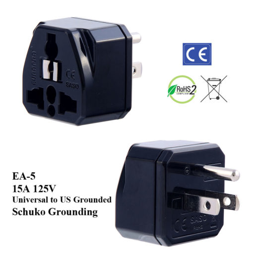 EA Plug Adapter Black