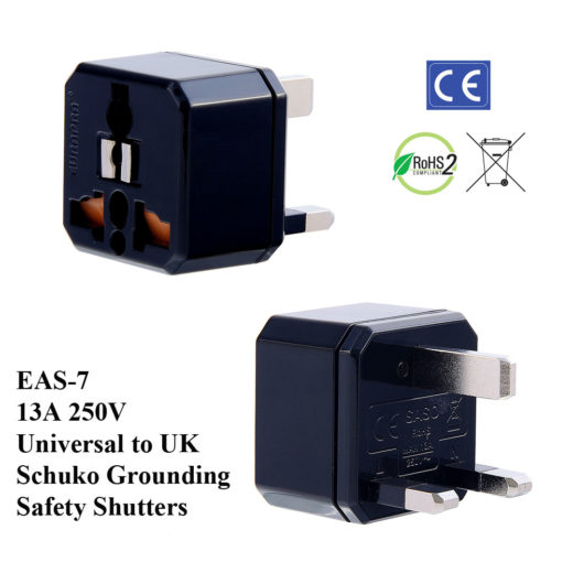 EAS Plug Adapter Black