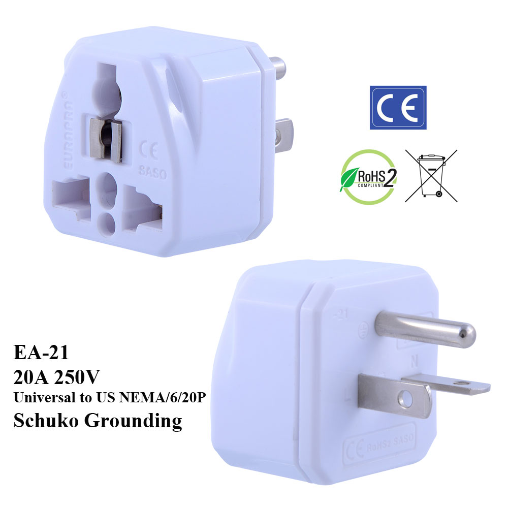 Plug adapters technical details
